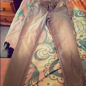 Girls old navy size 2 reg light colored jeans